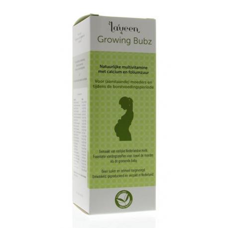 Growing bubz multivitamine foliumzuur zwangerschap