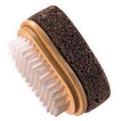 Natural puimsteen borstel 8 x 5 cm