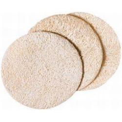 Loofah schijfjes 7cm 3-pack