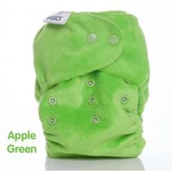 Wasbare luier all in two groen