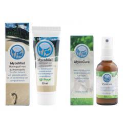 Mycocure/Mycomiel combiverpakking 2 x 50 ml