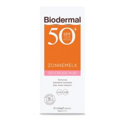Zonnemelk SPF50+ gevoelige huid