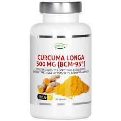 Curcuma longa 500 mg bcm95