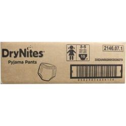 Drynites girl 3 - 5 jaar 3 x 10 stuks