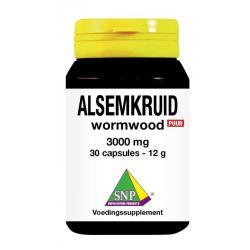 Alsemkruid wormwood 3000 mg puur