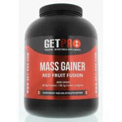 Mass gainer red fruit fusion
