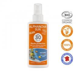 Sun vegan spray SPF30 kids bio
