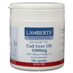 Levertraan (cod liver oil) 1000 mg