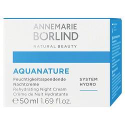 Aquanature hydraterende nachtcreme