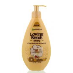Body milk argan camelia oil