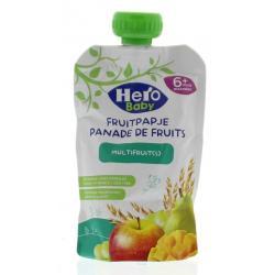 Baby fruitpap granen/multi fruit 6M+