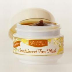 Face mask sandalwood