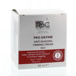 Pro define rich anti sagging firming cream