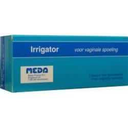 Irrigator set vaginaal