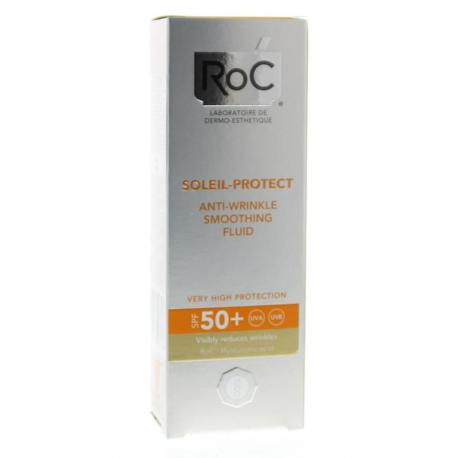 Soleil protect anti ageing face fluid SPF 50+