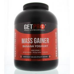 Mass gainer banana yoghurt