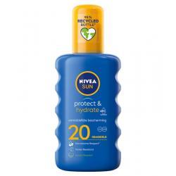 Sun protect & hydrate zonnespray SPF20