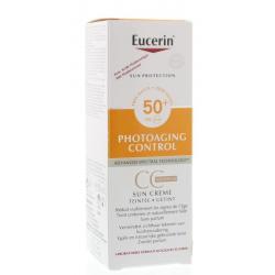 Eucerin sun cc cream spf50+ #