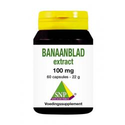 Banaanblad extract