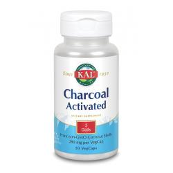 Charcoal activated - actieve kool 280 mg