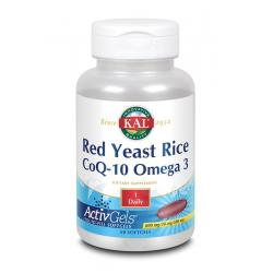 Red yeast rice Co Q10 Omega 3