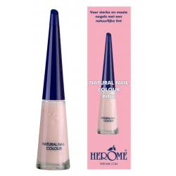 Natural nail colour pink