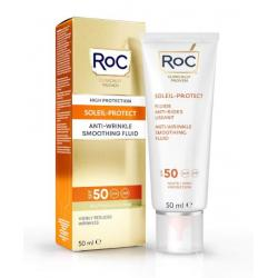 Soleil protect anti wrinkle smoothing fluid SPF50+