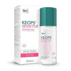 Keops deodorant roll on sensitive skin