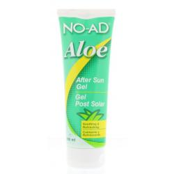 Aloe vera gel after sun tube