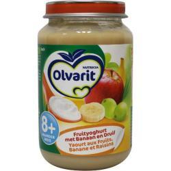 Yoghurt banaan druif 8M04